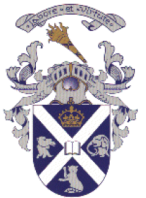 The Symbolic representations are as follow: Crown represents the Royal in the school name; Cat-o-mountain represents the Arms of Clan MacKintosh; Book and burning torch represent a place of learning and the Motto 'Labore Et Vitute' translates as 'Work and Excellence'.