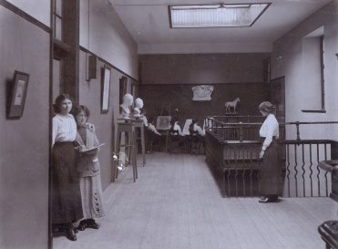 The gymnasium extension in 1913 © Andrew Paterson/SHPA